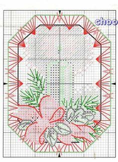 Ornamenti Natalizi What an awesome site for so many free cross stitch patterns! Cross Stitch Christmas Cards, Xmas Cross Stitch, Christmas Cross, Cross Stitch Charts, Cross Stitching, Cross Stitch Embroidery, Cross Stitch Patterns, Christmas Candle, Cross Stitch Angels