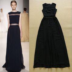 2015 Europa-Runway Vestido Dress
