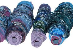 CAROLYN SAXBY MIXED MEDIA TEXTILE ART: Recycling in textile art