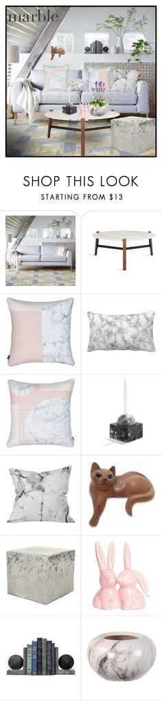 """""""Sin título #771"""" by yblacasa ❤ liked on Polyvore featuring interior, interiors, interior design, home, home decor, interior decorating, West Elm, Heal's, NOVICA and Amara"""