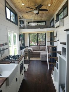 Two Waterfront Tiny Homes on Lake Travis Vacation Tiny House Plans,., Two Waterfront Tiny Homes on Lake Travis Vacation Tiny House Plans,. Tiny House Cabin, Tiny House Living, Tiny House Plans, Tiny House On Wheels, Small Living Rooms, Tiny House Kitchens, Tiny Home Floor Plans, Tiny House With Loft, Loft House