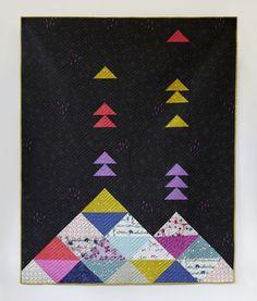 free pdf....Volcano Quilt Pattern — Cotton + Steel Fabrics