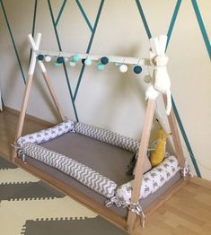 Montessori Floor twin single Toddler bed bumpers house tipi teepee snake cushion bolster crib bolster pads montessori bed bumper nail pillow – Baby Pillow Name Baby Bedroom, Kids Bedroom, Teepee Bed, Bed Bumpers, Bed Pillows, Cushions, House Beds, Diy Bed, Diy Dog Bed