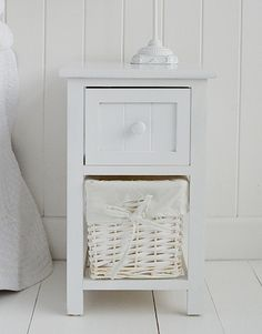 Best 21 Best Slim Narrow Bedside Tables Images In 2019 White 400 x 300