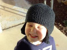 Ravelry: Mitered Earflap Hat pattern by Erin Atwood free