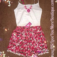 Floral Pom Pom Shorts | Summer Fashion 2015 www.psiloveyoumoreboutique.com