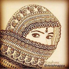 Pinkz Passion : Rashmi Krishnappa - An Inspiring Artist Doodle Art Drawing, Zentangle Drawings, Mandala Drawing, Art Drawings Sketches, Pencil Art Drawings, Cool Drawings, Zentangle Art Ideas, Black Pen Drawing, Zantangle Art