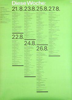 #otlaicher #graphicdesign #branding #printdesign #poster #duotone #green