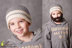 Beard Beanie Crochet