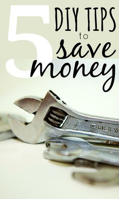 Instead of paying someone else to do your odd DIY jobs or projects, check out my top DIY money saving tips to help with DIY jobs around the home. Check out these tips!