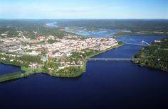 City of Rovaniemi in Finnish Lapland. Photo by Visit Rovaniemi / Rovaniemen matkailu