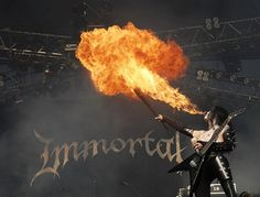 "Immortal | Norwegian black metal band founded by ""Abbath"" and ""demonaz"" in 1990 that is heavily accredited for the creation of genre."