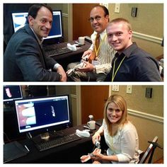Brandware's Lindley Presley and Anthony Popiel got to spend the day on-site at the Carestream Dental HQ and play with cool new dental tools. We <3 technology.