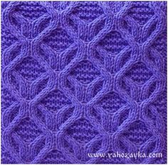 Free Knitting Patterns – collection of knitted models, descriptions, patterns, charts. Cable Knitting Patterns, Knitting Charts, Lace Knitting, Knitting Stitches, Knit Patterns, Stitch Patterns, Knit Crochet, Knitting Needles, Crabs