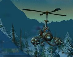 World of Warcraft Helicopter Some of the best World of Warcraft Alliance pics