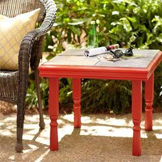 Pinterest Inspired: How to Build an Outdoor Occasional Table