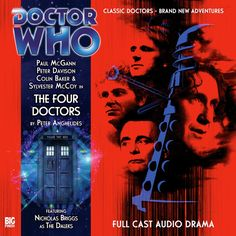 ix. The Four Doctors (subscription exclusive) - Doctor Who - The Collected 8th Doctor - Big Finish