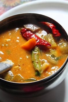 I love sambar so much. I have a array of sambar recipes in my blog..And it is keeping on growing and growing. This is one sambar recipe which i wanted to share for quite a long time and it is simply delicious. It comes from a place called udupi where sambar is very traditional and...Read More
