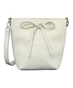 6c86e65213 Love this White Jen Crossbody Bag by Mellow World on  zulily!  zulilyfinds  Womens