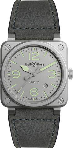 La Cote des Montres : Les montres Bell & Ross BR 03-92 Horograph - BR 03-92 Horolum - Invitation au voyage