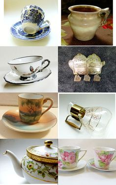 Coffee, Tea or VJT? by Sally Jones on Etsy--Pinned with TreasuryPin.com