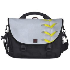 Yellow Stitches Baseball / Softball Bags For Laptop
