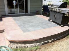 Custom landscape design patio.  Contact sms for a quote! Superiormaintenancesolutions.com