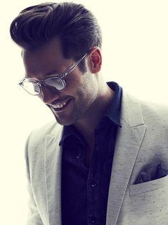 Glasses l Jacket