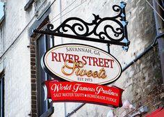 River Street Sweets.  Savannah, Ga.