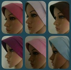 #Hijab Under Scarf #Caps for Women, Sajeda, #Islamic Arabic Clothing Shawls CapsHat
