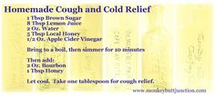 Homemade cold & cough relief that actually works!
