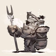 Some sunday sketching! #drawing #sketch #illustration #fantasy #knight #guard #character #concept #digital #art by maxgrecke