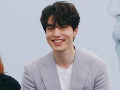 Oh when he smiles I just can't even Lee Dong Wook Smile, Lee Dong Wook Goblin, Lee Dong Wook Funny, Lee Dong Wook Abs, Asian Actors, Korean Actors, Korean Celebrities, Lee Dong Wook Wallpaper, Lee Dong Wok
