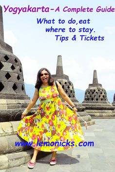 A complete guide on Yogyakarta. What, where & tips for every attractions.  Top Things to do in Yogyakarta, Indonesia.