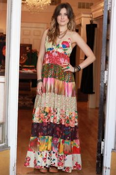 I have and LOVE this dress! colorful maxi at Viva Diva