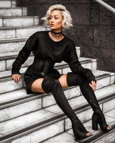 Micah Gianneli: Un style unique, une vision de la mode qui suit le monde … News Fashion, Look Fashion, Fashion Models, Fashion Tips, Fashion Trends, Dance Fashion, Sexy Outfits, Cute Outfits, Fashion Outfits