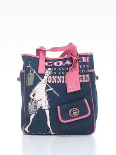 Coach tote- perfect for summer!