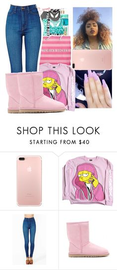 """""""I'm back!!!💕"""" by shadea04 ❤ liked on Polyvore featuring Vibrant and UGG Australia"""