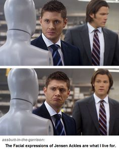 Jensen Ackles in Supernatural. hahaha