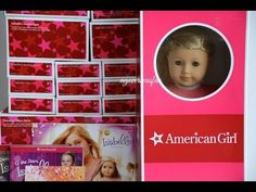 Opening American Girl Doll Isabelle ~ Whole Collection ~