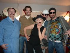 A mustache party I had a few years back. @Drew Scott  @MrSilverScott