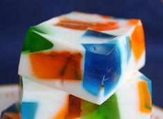Sea Glass Jello   Recipe Girl