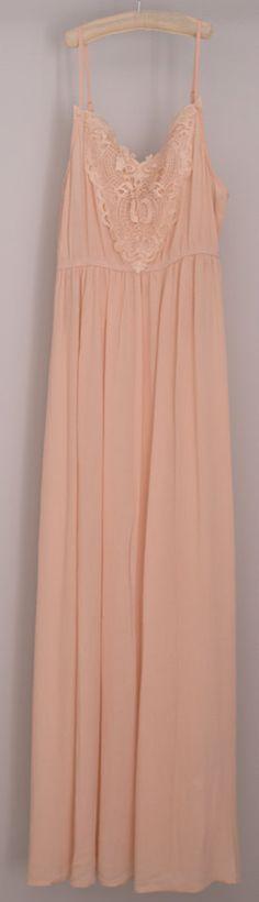 Blush maxi dress - Forever 21