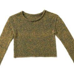 Strickmuster: Garnmix-Pullover stricken - eine Anleitung | BRIGITTE.de