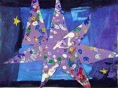 J: Eric Carle Stars - Kindergarten