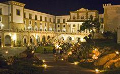 Villa patronale Baglio Basile, now a hotel, Marsala, Sicily.