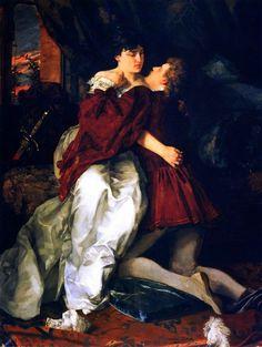 Adelheid & Franz ~ Wilhelm Trübner (1851-1917)