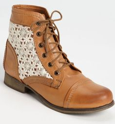 1737847250fc98 Lace Boots   steve madden Check out the website for