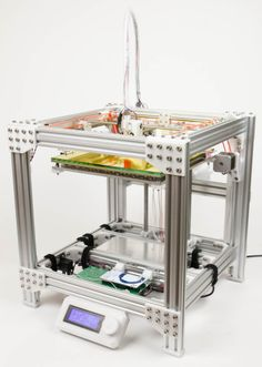 Dutch Maker 3D prints an entire 3D printer. #Atmel #3DPrinting #3DPrinter…