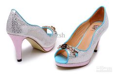 Buy cheap Newest Women's Girls high-heeled shoes heels sandals Ladies boots women's slippers 909-13 with $42.51-70.8/Pair|DHgate